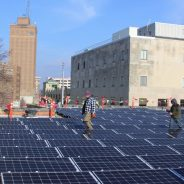 First rooftop solar system in downtown Aurora generates renewable energy, other benefits